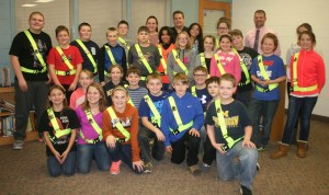 The 2016 Blissfield Safety Patrol squad will be providing assistance to students. (Copyright 2016 River Raisin Publications, Inc.)