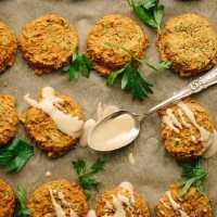 Vegan GF Pumpkin Lentil Falafel