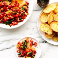 Best Cherry Tomato Bruschetta