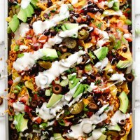 Vegan Game Day Nachos