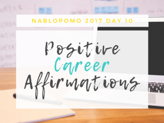 Try these positive career affirmations to help you in your job search, interviews, and beginning your exciting new career. Read more at blissfullemon.com