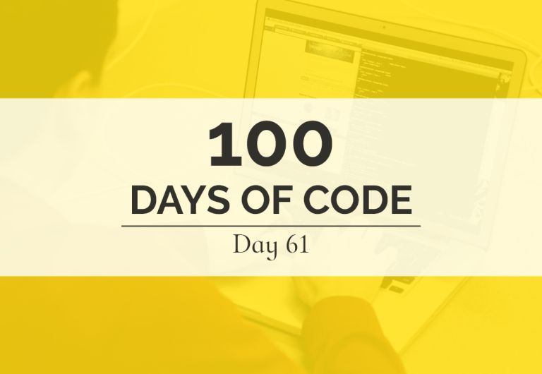 100 Days of Code: Day 61... Still working on this JavaScript cash register.