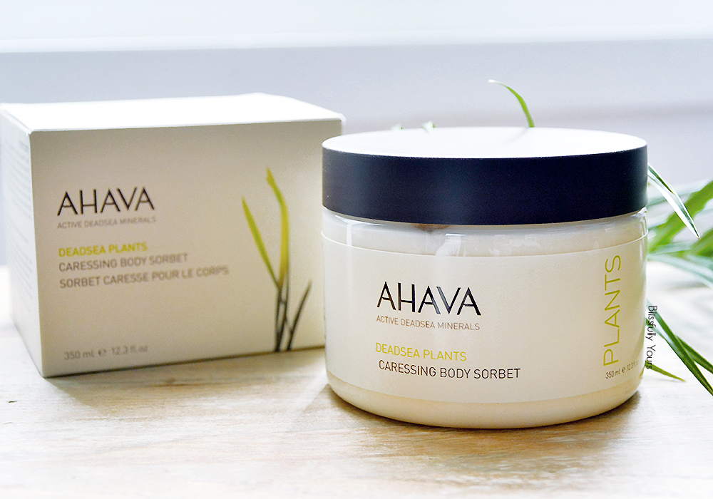 Ahava sorbet corps blissfully yours