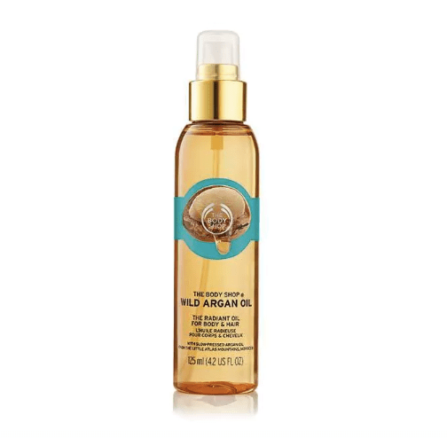 soldes-2018-beaute-cheveux-the body shop huile argan