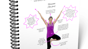 Blissful Yogini Asana Tip Sheets, First Edition (Poses 1-30)