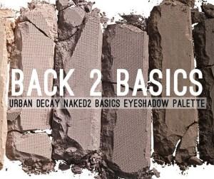 Urban Decay NAKED BASICS 2 Lidschatten Palette
