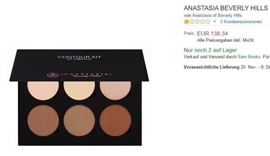 "Anastasia Contour Kit ""Light & Medium"" Palette"