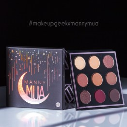 MannyMUA x Makeup Geek Shadow Palette