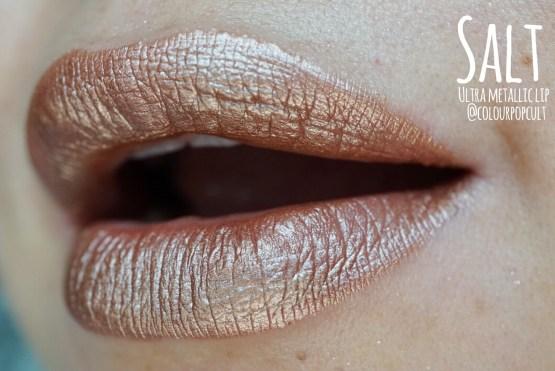 "Colourpop Ultra Metallic Lip Lipstick ""Salt"""