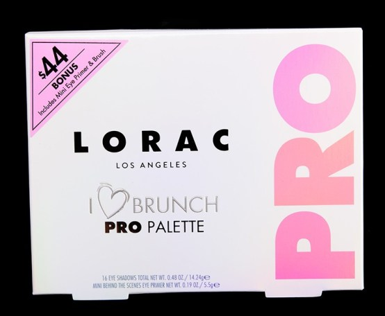 NEW! LORAC I Love Brunch PRO Palette