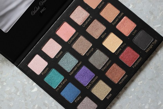 Violet Voss Drenched Metal Eyeshadow Palette