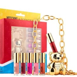 Sephora x Moschino Collection Bear Lip Gloss Chain Set