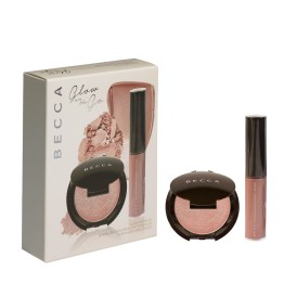 BECCA Limited Edition Glow On the Go Rose Gold Set