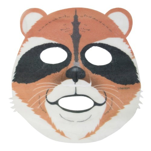 BERRISOM Korean Animal Mask Series - Raccoon Mask