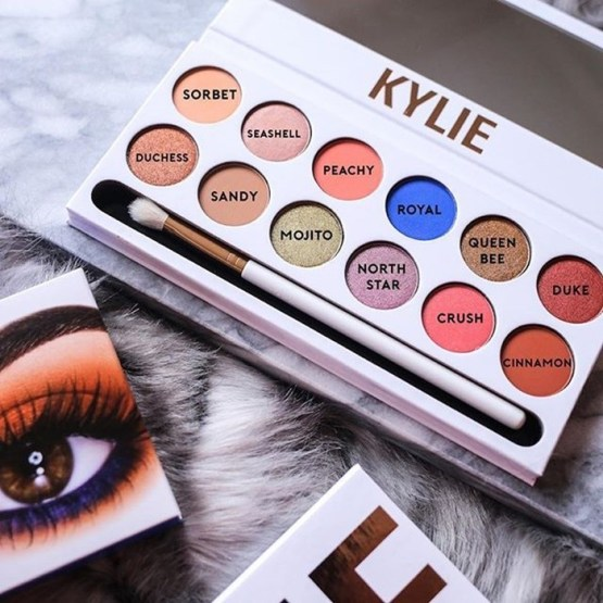 Kylie Limited Edition The Royal Peach Palette