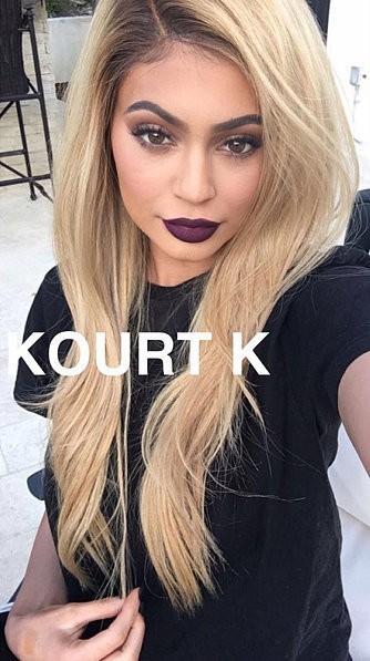 Kylie Lip Kit by Kylie Jenner Kourt K Matte Liquid Lipstick