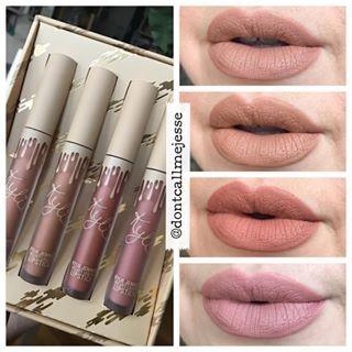 Kylie Send Me More Nudes Velvet Liquid Lipstick Set