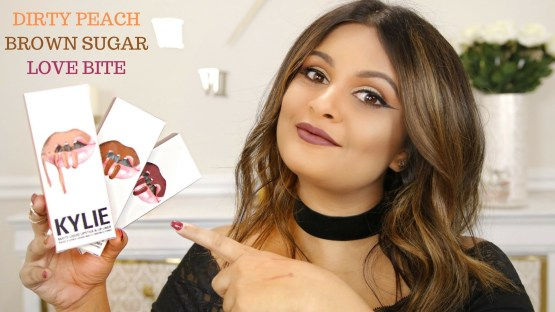 Kylie Lip Kit by Kylie Jenner   Dirty Peach Matte Liquid Lipstick