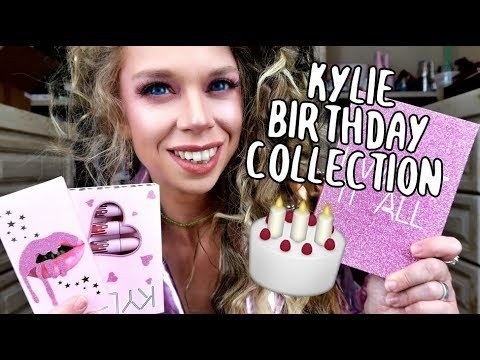 Kylie 2017 Birthday Collection - Mini Velvet Lipstick Kit