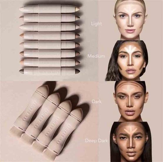 "KKW Beauty Contour Highlight Kit ""Medium"""