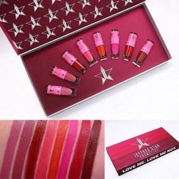 Jeffree Star Cosmetics The Mini Velour Liquid Lipsticks Reds & Pinks