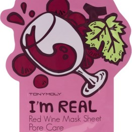 "TONYMOLY I'm Real Sheet Mask ""Red Wine"""