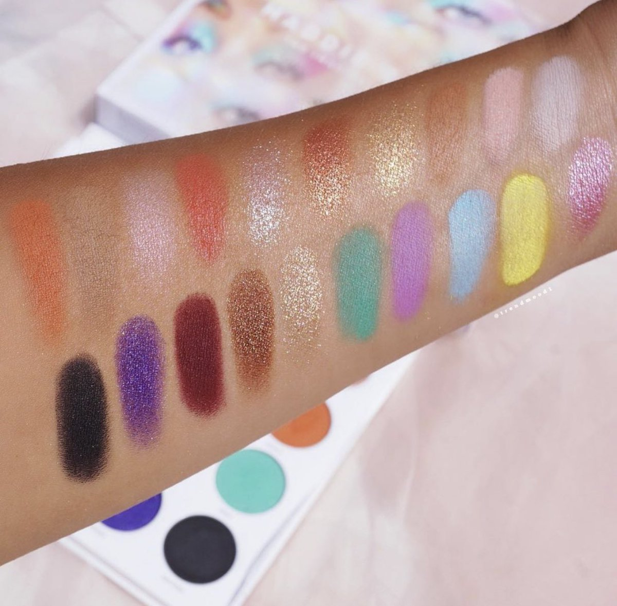 Morphe X Maddie Ziegler The Imagination Palette Blissme Maddie ziegler is an extremely talented young dancer from pennsylvania, born on september 30 real name: morphe x maddie ziegler the imagination palette