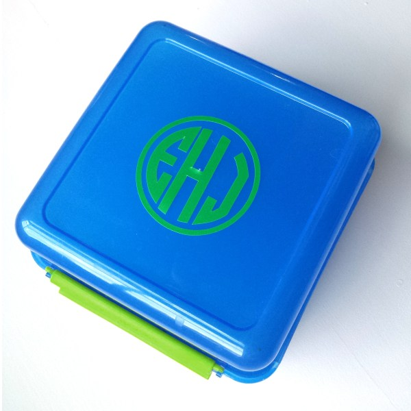 Monogrammed Lunch Container