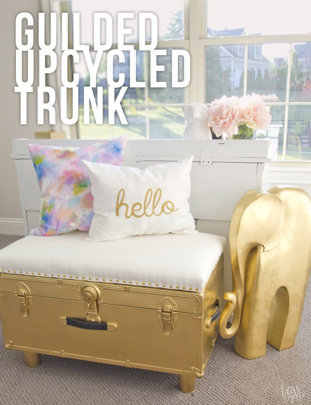 Upcycled Trunk