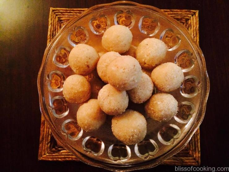Peanut Coconut Laddu, Laddo, Diwali recipes, Festival Recipe, Indian Sweets