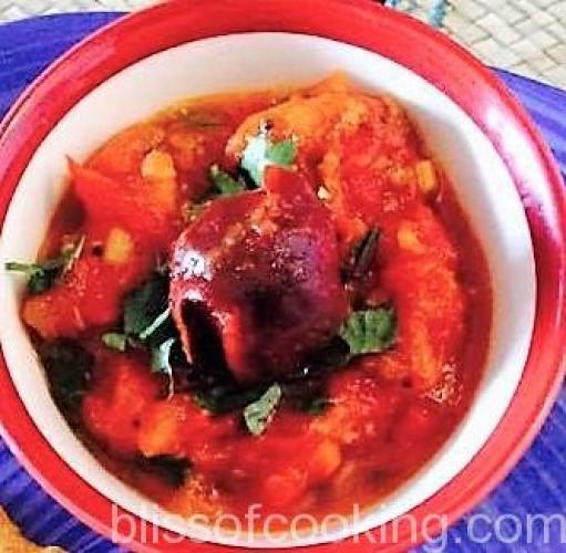 Sweet & Sour Tomato Chutney