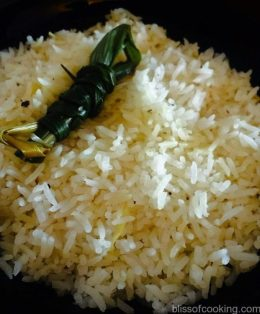 Thai Style Fragrant Rice