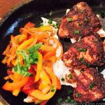 Jerk Paneer with Peppers