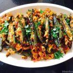 Okra, Bhindi stuffed with Paneer, Okra and cottage cheese