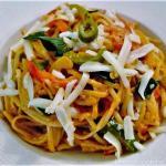 Three Pepper Pasta, Spaghetti