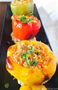 Stuffed Bell Peppers, Stuffed Shimla Mirch