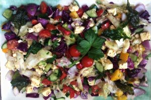 Greek Salad, Mediterranean salad