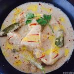 Dum ka Paneer, Cottage Cheese in White gravy