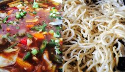 Pan fried noodles with Oyster sauce, Pan Fried Noodles