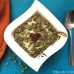Methi Matar Malai - Fenugreek and Green Peas Curry