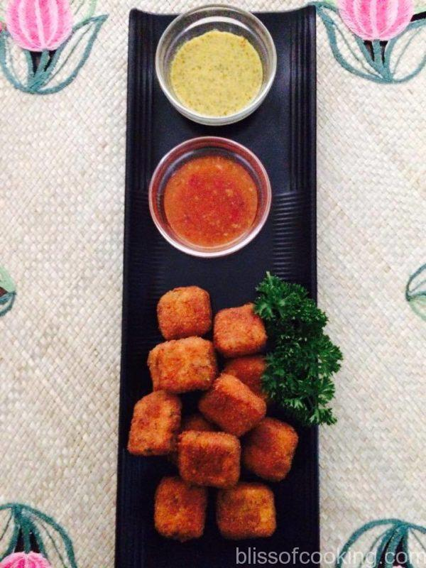 Paneer Nuggets (Cottage Cheese Nuggets)