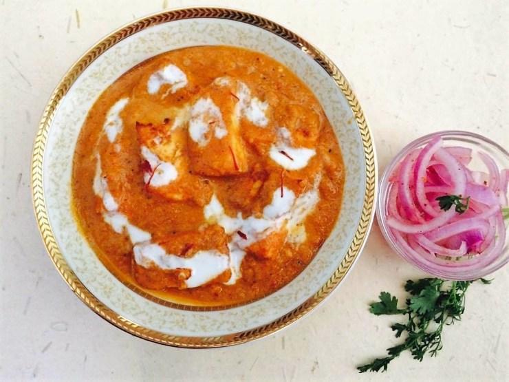 Shahi Paneer - Cottage Cheese gravy