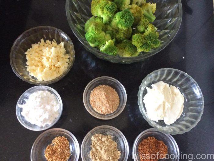 Cheesy Broccoli Florets