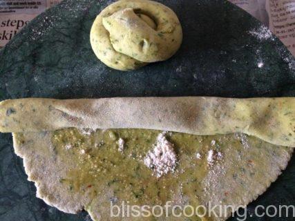 Methi Missi Roti