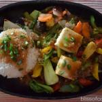 Sizzling Vegetables with Fragrant Rice