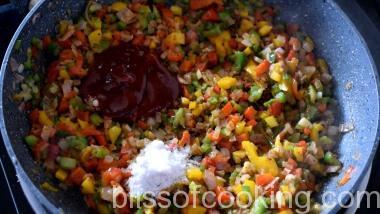 Cheesy Cajun Fried Rice