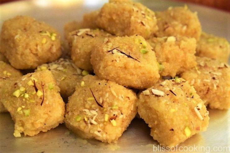 Nariyal Ki Barfi, Coconut Fudge