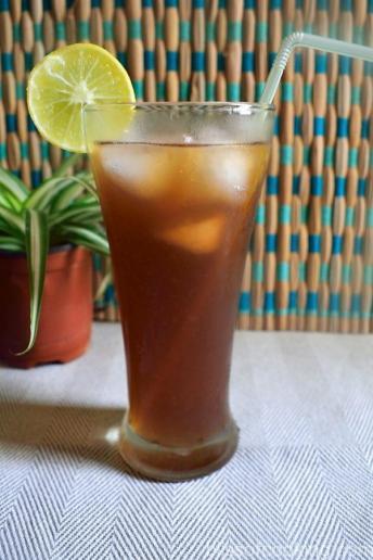 Passion Fruit Ice Tea