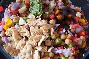 Choley Ka Chatpata Salad
