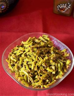 Barbati Ki Sabzi, Long Beans, Yardlong Beans